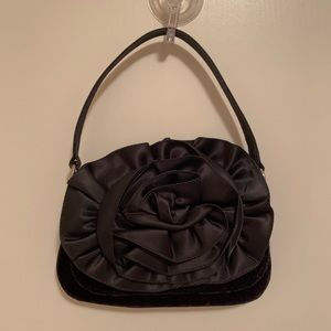 La Regale Cute Black Evening Bag